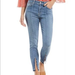 Sanctuary Robbie High Skinny Ankle Jean with slit